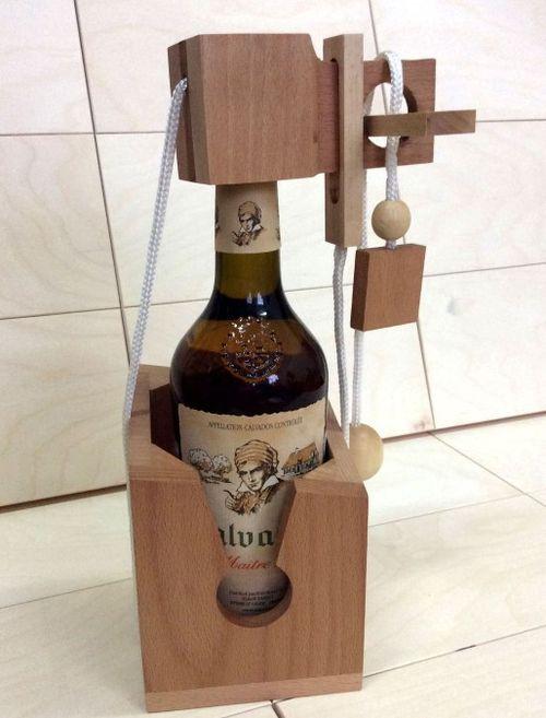 Головоломка на бутылку