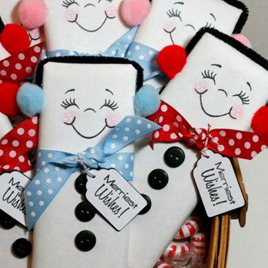 как упаковать шоколадку в подарок на новый год