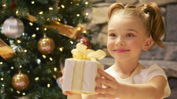 Новогодний подарок маме от ребенка