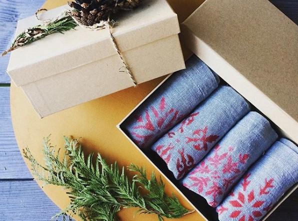 Подарочный набор салфеток