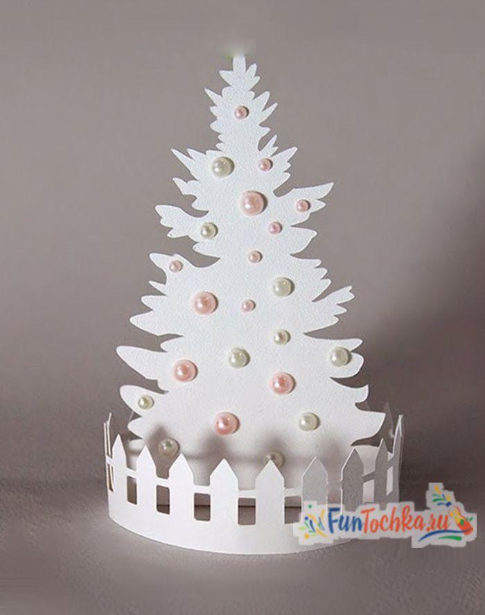 как сделать красивую новогоднюю елку своими руками
