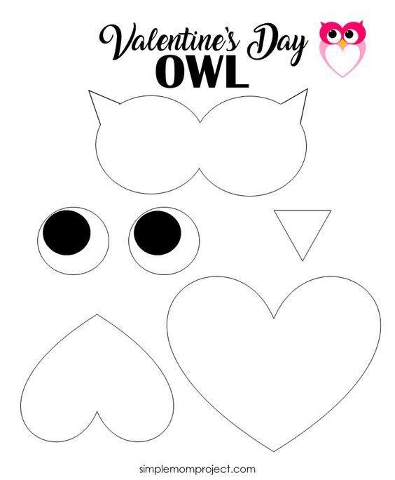 открытка ко дню влюбленных своими руками шаблон для детского сада